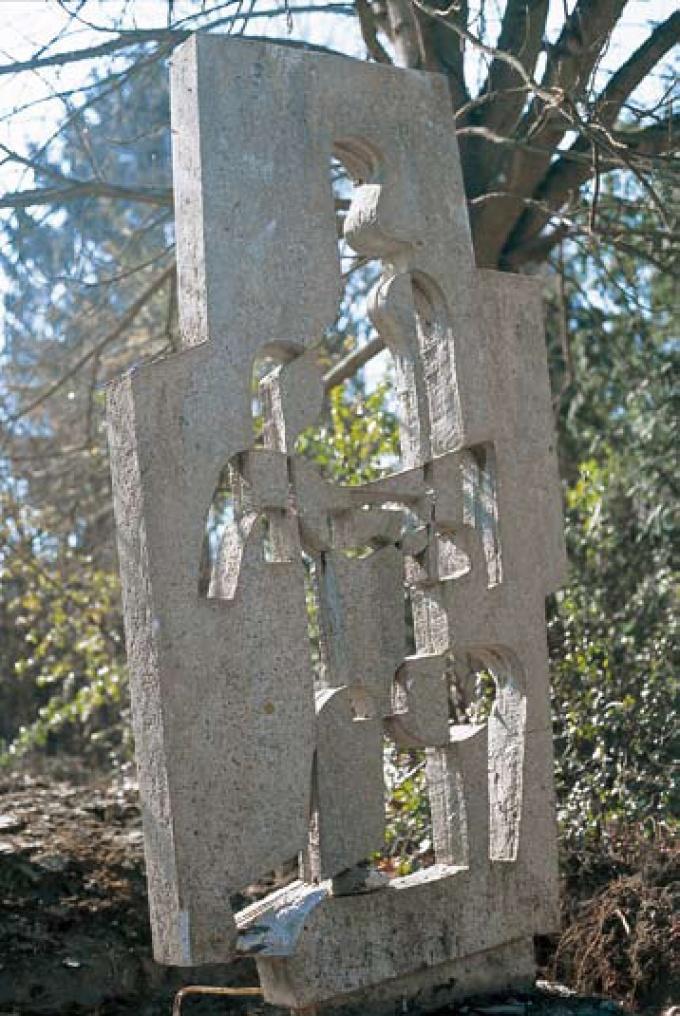 Sculpture en béton